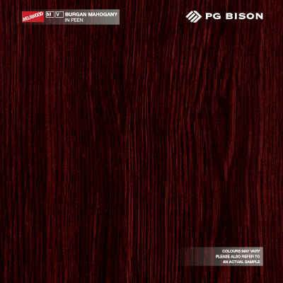 Melawood Value Burgan Mahogany Melamine